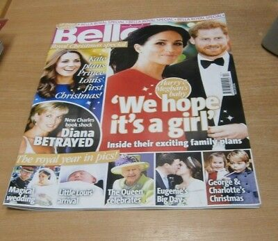 True Life Special magazine Bella Royal Christmas Special 3 JAN 2019 Harry, Megha