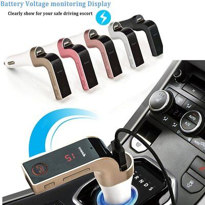 Car Charger MP3 Player FM Transmitter Bluetooth Hands-free Calls Music Player M2