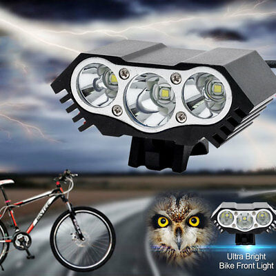 X3 Brillant CREE XML T6 LED Bicyclette Vélo Cyclisme Phare Lampe Frontale FTP