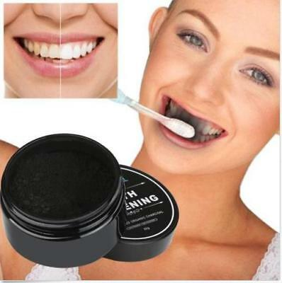 Teeth Whitening Powder Natural Organic Activated Charcoal Bamboo Toothpaste 30g