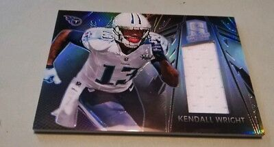 2013 Panini Spectra Kendall Wright Tennessee Titans Patch /299