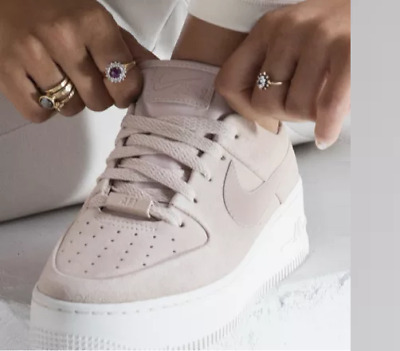watch d2d2e 888af Nike Air Force 1 Sage Low Particle Beige Phantom Girl Women s Trainers All  Sizes