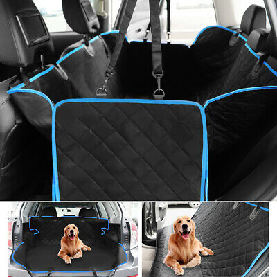 Non-Slip Pet Dog Car Seat Cover Waterproof Hammock SUV Back Rear Bench Protector