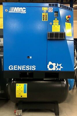 ABAC Genesis.I 11 Variable Speed Drive Receiver Mounted Rotary Screw Compressor!