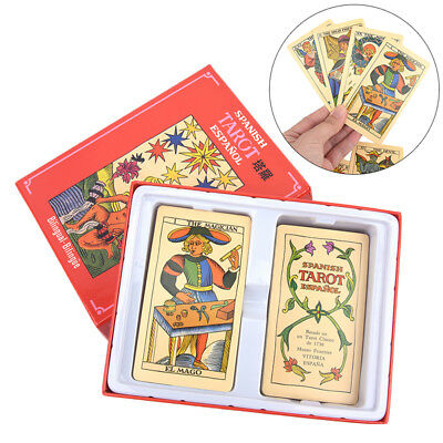Destiny Tarot Cards Mysterious Divination Personal Playing Card Game With Box Xg