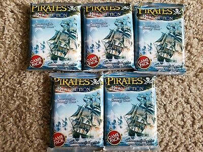 Wizkids Pirates Of The Revolution Booster Pack X5