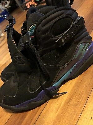 301195ccad8766 Air Jordan 8 Aqua Retro 2007 Men s Size 10.5 VIII AJ8