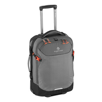 """New Eagle Creek Expanse 21"""" Convertible International Carry-On Luggage Grey"""