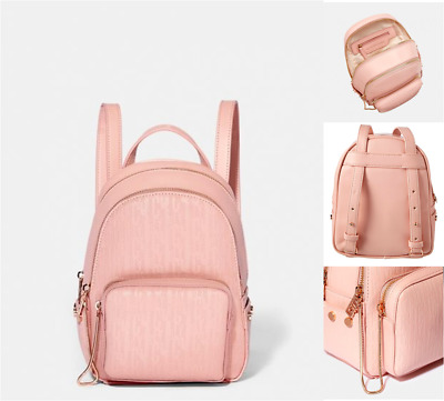 JUICY COUTURE Mini Backpack ASPEN Zippy Rucksack Pink Small Body Bag New RRP£69