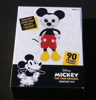 New Disney Minnie Mouse Soft Toy Crochet Kit90 Years Eur 1108