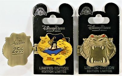 Disney Parks Trading Pin Aladdin 25th Anniversary Cave Of Wonders Pin NEW LE
