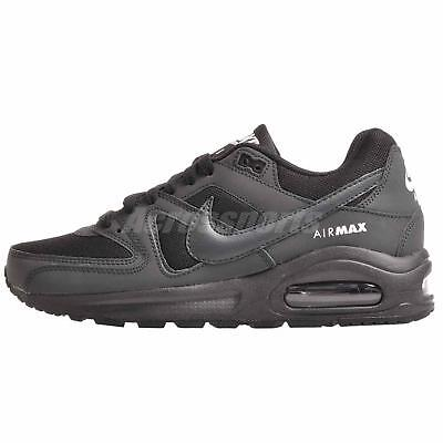 brand new 0590d 31192 Nike Air Max Command Flex (GS) Running Kids Shoes Black 844346-002