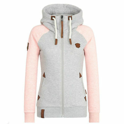 fa9c72f77 WOMEN WINTER HOODIE Pullover Plush Sweatshirt Warm Soft Coat ...
