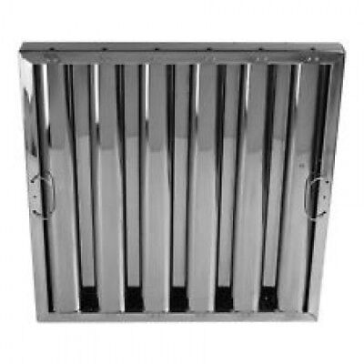 """Washable grease baffle filter Stainless Steel 16"""" x 20"""" x 2"""" (Nominal) *NIB*"""