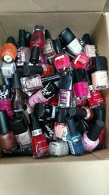 100 LOT of Assorted Brands Nail Polish WHOLESALE