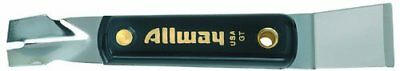 Allway Tools 1-inch 2-in-1 Nylon Handle Putty Knife- Glazing Tool - GT