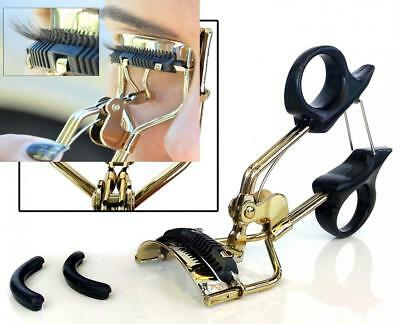 Eyelash Curler with Built-In Comb Attachment. Best New Professional Tool...