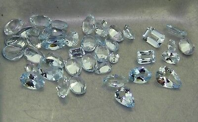 Mixed Aquamarine 23.44ct Natural Loose Gemstones