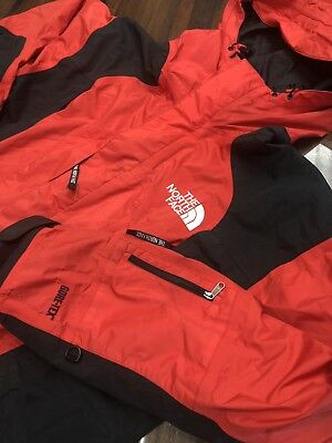 The North Face Gore-Tex Vintage Mountain Guide Ski Jacket Shell Red Mens (L)