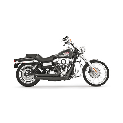 Echappement Freedom Performance Independence Shorty Noir Dyna 91-05