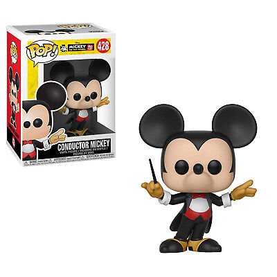 Funko Disney Mickey True Original POP Conductor Mickey Vinyl Figure NEW IN STOCK
