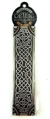 That Comapny Called It Celtic SHEILD Solid Metal Bookmark Silvertone Gift