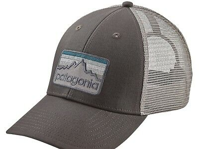 Patagonia Line Logo Badge LoPro Trucker Hat Cap SOLD OUT VVHTF  Monochromatic NWT 25b88938486