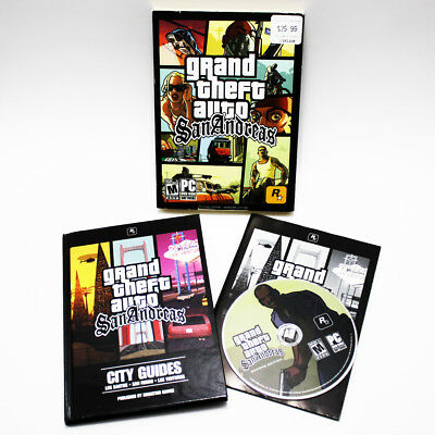 GTA Grand Theft Auto San Andreas PC DVD Game 2005 FREE FAST SHIPPING