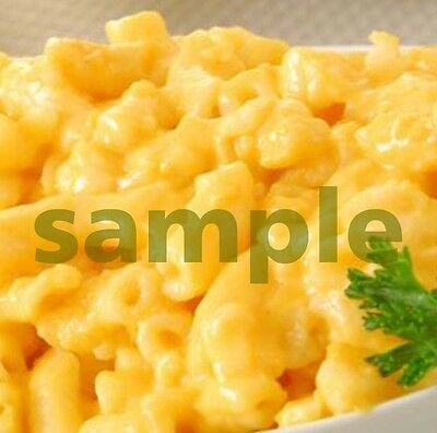 1 Macaroni Mac & Cheese Meal Lunch Dinner Recipe Digital Picture Photo Image JJ