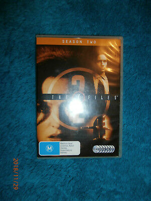The X-Files : Season 2 (DVD, 2008, 7-Disc Set) Sci-Fi TV David Duchovny