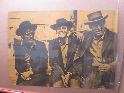 BUTCH CASSIDY AND THE SUNDANCE KID B/&W VINTAGE MOVIE POSTER PRINT 36x54 BIG 9MIL