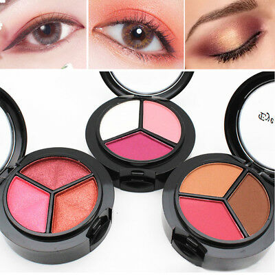 Eyeshadow Palette Smoky Cosmetic Glitter Shimmer Matte Makeup Eye Shadow Powder
