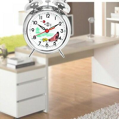 Alarm Clock Vintage Double Bells Alarm Clock For Bedroom Side Table Wake Up New