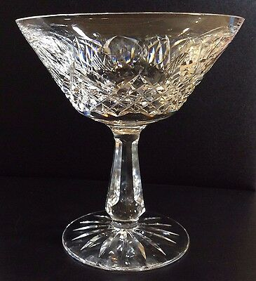 Set of 4 - WATERFORD CRYSTAL Kenmare Champagne / Sherbet Glasses - BEAUTIFUL!!