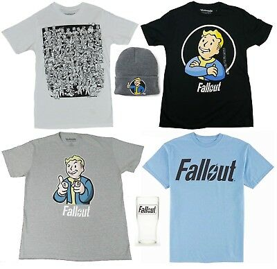 Fallout 76 T-Shirt Hat Tumbler Vault-Tec Wasteland - Men's L XXL - New w/Tags!
