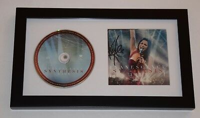 Amy Lee Signed Autographed Evanescence Synthesis Live Framed CD Display COA