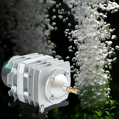 45L/min Electromagnetic Aquarium Oxygen Pond Air Pump Aerator 25W