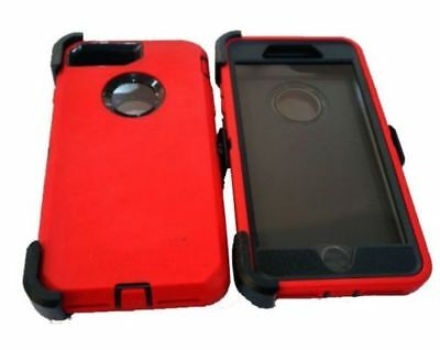 For iPhone 6 6s 7 8 Defender Case Cover (Belt Clip Fits Otterbox inspired)