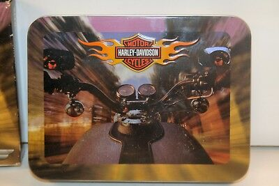 Harley Davidson Playing Cards in Tin 2 card decks never opened
