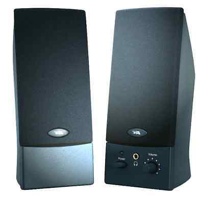 Cyber Acoustics CA-2011 2-Piece Amplified Computer Speaker System