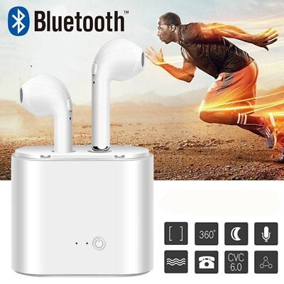 Bluetooth Wireless Sports Headphones Earpods Headset For Apple iPhone iPad IOS