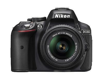 Nikon D5300 24.2MP DSLR Camera with 18-55mm VR Lens Kit 1522 FREE SHIPPING