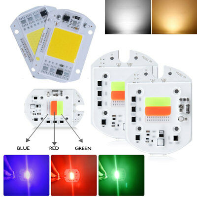 High Power Floodlight RGB/White LED 20/30/50W DIY COB LED Chip Lamp 110V 220V