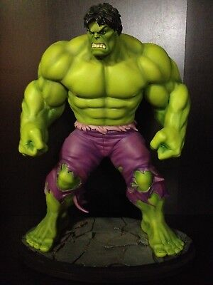 The Incredible Hulk Statue by Bowen Designs - Savage version