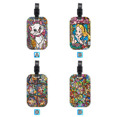 Marie Cat Alice In Wonderland Wood Travel Luggage Tag Bag Tags Accessories