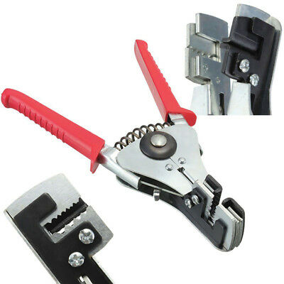 Wire Stripper Cable Pliers Hand Tool Steel Cutting Non-Slip Cutter Crimper 1PC