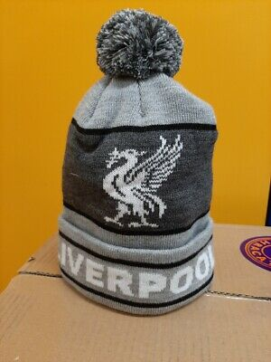 Liverpool Football  Pom Pom Bobble Hat Knitted. CHRISTMAS PRESENT
