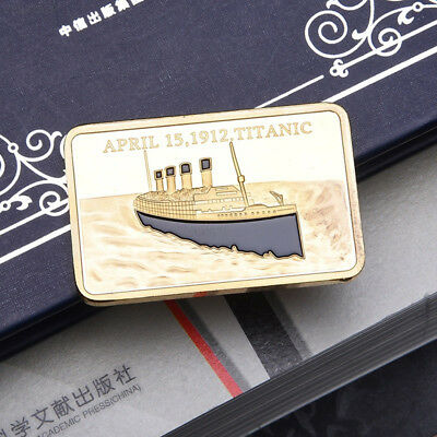 Tragedy Of The Titanic Commemorative Coin Zinc Alloy Collection No-currency Coin