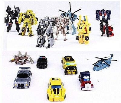 Transformers Robot Car Truck Optimus Prime Bumble Bee Figure Toys Xmas Kids Gift