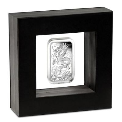 NEW Perth Mint - Dragon 2018 1oz Silver Proof Rectangular Coin